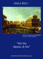 cartolina blu